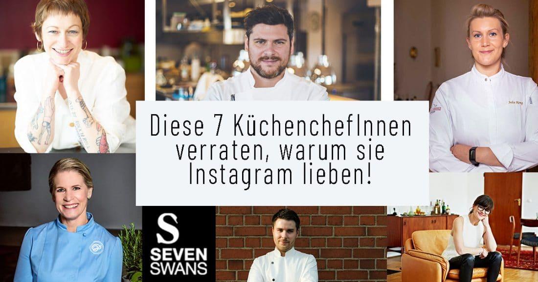 Diese 7 KüchenKünstlerInnen verraten, warum sie Instagram lieben