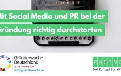 Social Media & PR für Gründer
